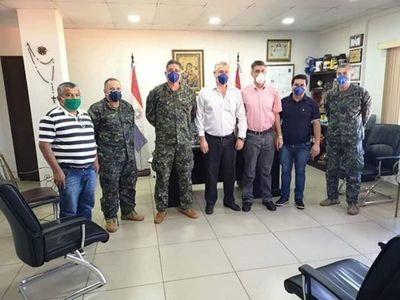 Tras pedido de disculpas, volvió la paz entre militares y autoridades civiles de Amambay