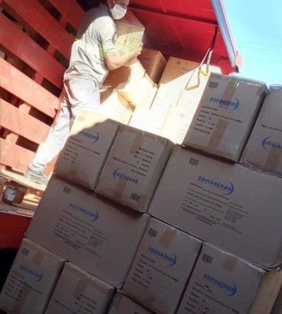 Alto Paraná recibe equipos de protección personal