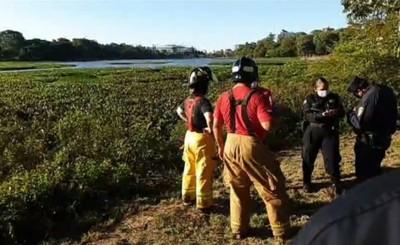 Encuentran cadáver en camalotes del Lago de la República