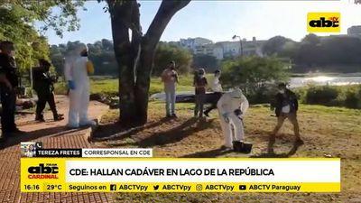 Ciudad del Este: Hallan cadáver en Lago de la República