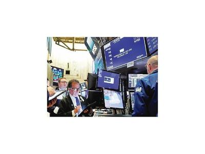 Las bolsas europeas caen y el Wall Street se recupera