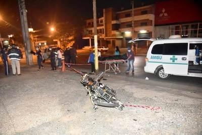 Motociclista muere en plena cuarentena •