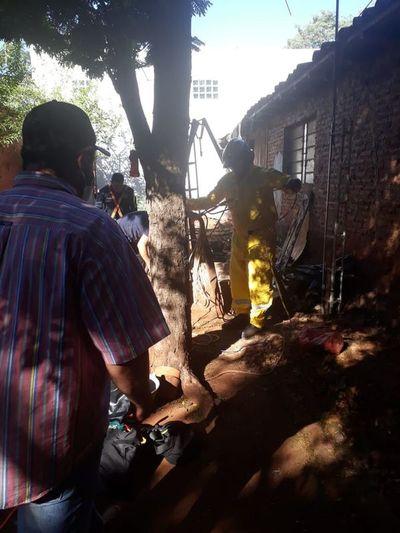 Mujer quedó atrapada en un pozo de 25 metros en Ciudad del Este
