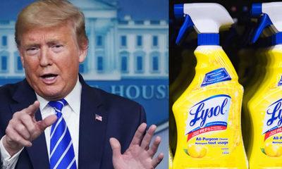 """Donald Trump señala como """"sarcástico"""" sus comentarios tras sugerir la inyección de desinfectantes para combatir al covid-19"""