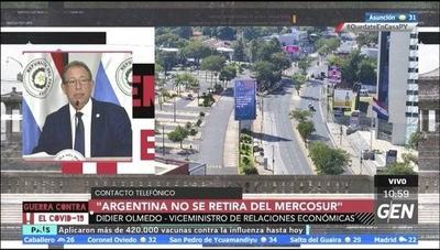 HOY / Didier Olmedo, Viceministro de Relaciones Económicas: Argentina suspendió su participación en el Mercosur