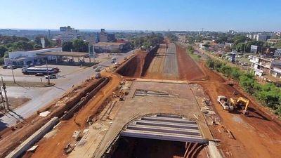 Un 40% de avance en obra de Multiviaducto de Ciudad del Este