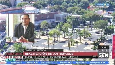 HOY / Enrique López Arce, Especialista en Empleo, sobre la reactivación de los empleos