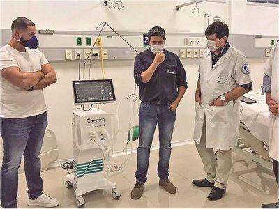 Crean prototipo  de respirador que cuesta la mitad de uno importado