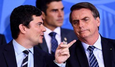 Una caravana en Brasilia en apoyo a Bolsonaro tras polémica renuncia de Moro
