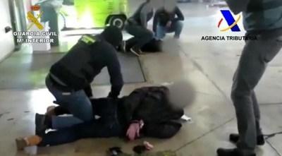 Barcelona: detienen a tres personas con 495 kilos de cocaína de origen paraguayo