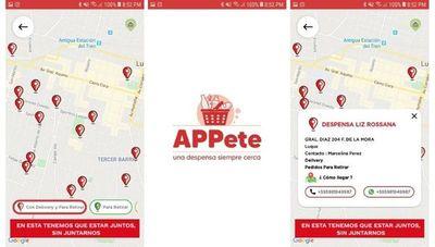 APPete: una alternativa para que despensas y pequeños comercios sean localizados