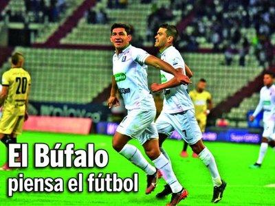 El Búfalo piensa el fútbol