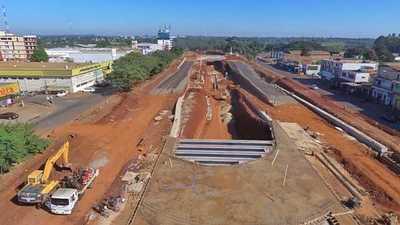 Multiviaducto: Obras presentan un avance del 40 %