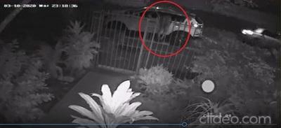 Quiere recuperar maletin robado por tortolero (con video)