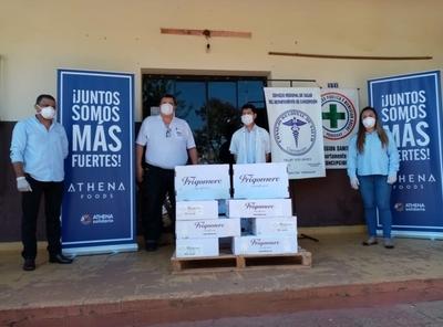 Empresa dona 500 kilos de carne al Hospital Regional de Concepción