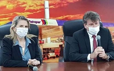 Denis Lichi va a Petropar comprometido en transparentar la institución