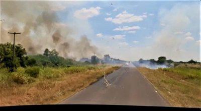 Chaco: siguen las quemas pero el MADES y la Fiscalía no actúan
