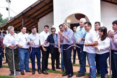 Gobierno Nacional inauguró hoy 14 obras en Yabebyry Misiones