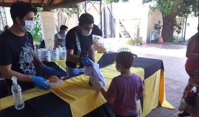"""Guaraní alimentó a más de 300 personas en la primera edición de su """"Tembi'u Legendario"""""""