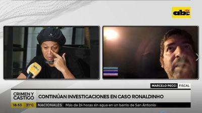 Continúan las investigaciones en caso Ronaldinho