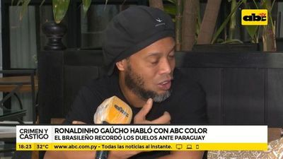 Ronaldinho Gaúcho habló con ABC Color