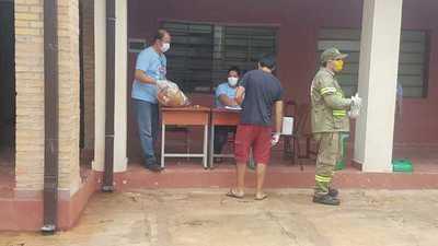 Fonacide: Kits de alimentos podrán ser entregados a mediados de mayo