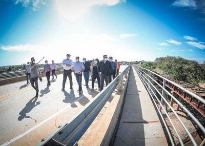 Habilitan el mayor puente mixto que une localidades de Concepción y San Pedro