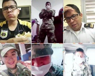 Oficiales, castigados por videos kachiãi