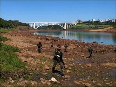Preocupa a Brasil  cruce ilegal por el Paraná desde Paraguay