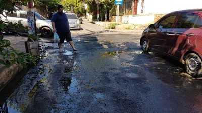 Parte del centro de San Lorenzo sin servicio de agua de Essap