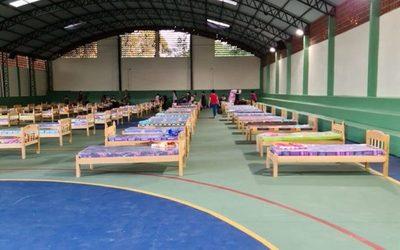 554 paraguayos en albergues de Alto Paraná