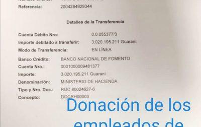 Funcionarios de Itaipú cuestionan falta de información sobre millonaria donación para luchar contra el Covid-19 – Diario TNPRESS