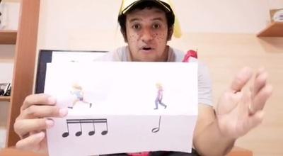 Docente del Chaco utiliza la creatividad y la música para seguir enseñando en cuarentena