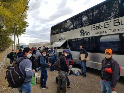 COVID-19: 47 compatriotas volvieron al país desde la Argentina