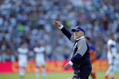 """Maradona: """"Dicen que es una nueva mano de Dios"""""""