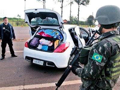 Brasil realiza su OPERACIÓN de GUERRA en la frontera con el PARAGUAY