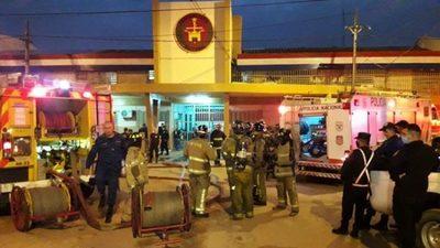 Controlan principio de incendio en Tacumbú
