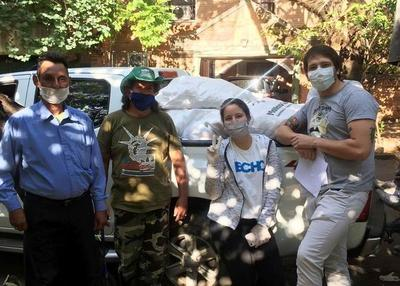 Covid-19: Techo entregó 3.900 kits alimenticios a familias de 80 asentamientos • Luque Noticias