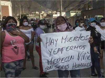 Perú supera 1.000 fallecidos por Covid-19 con peor registro diario de muertes