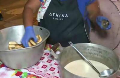 Olla popular en Tablada Nueva ayuda a los más necesitados