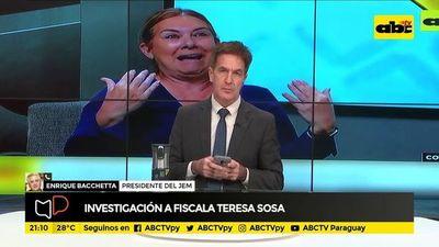 Investigación a fiscala Teresa Sosa