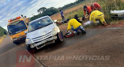 FATAL ACCIDENTE EN EL KM 10 DE LA RUTA SAN COSME Y DAMIÁN