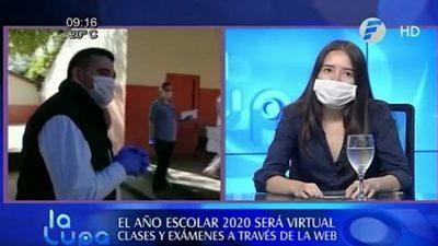 Petta bloquea a quienes critican educación virtual, asegura estudiante