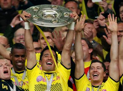 Lucas Barrios y un amor eterno hacia el Dortmund