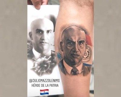 """Me tatué porque mi abuela se curó de la Covid-19"""