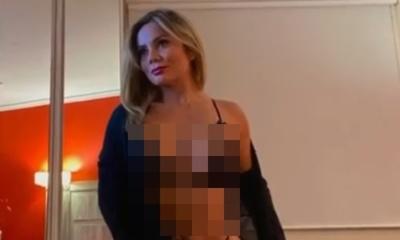 Las sensuales fotos de Dahiana Bresanovich en lencería