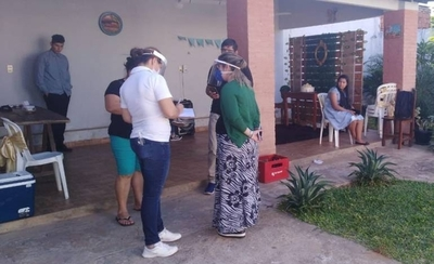 HOY / Otro caso de boda en cuarentena: los novios, testigos e invitados quedaron demorados