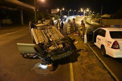 Muere un militar en un accidente de tránsito