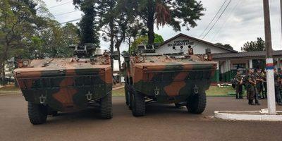 Militares PARAGUAYOS «por orden superior» abandonaron  operación conjunta con el BRASIL