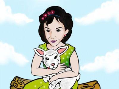 Dibujó a Yuyu con  esperanza de que la encuentren pronto